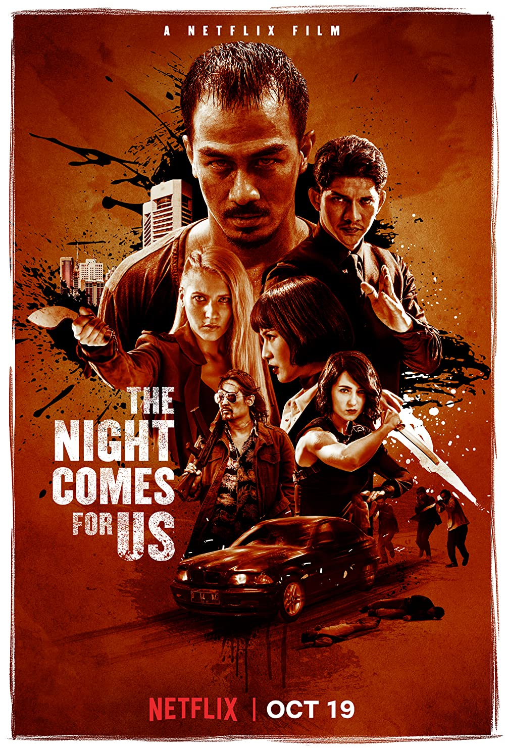 The Night Comes for Us online film