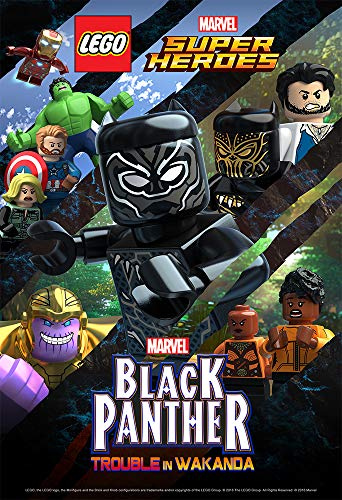 LEGO Marvel Super Heroes: Black Panther - Trouble in Wakanda - 1. évadonline film